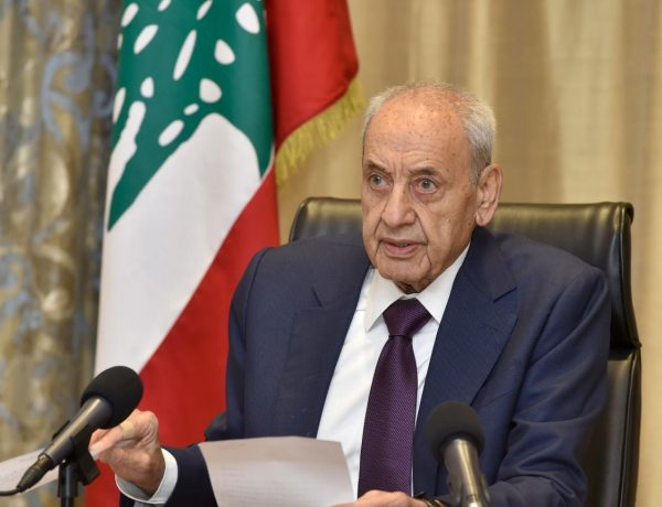 الرئيس بري :نؤكد بِاسْم الشَّعْب اللبناني رفض ومقاومة أَيِّ مُحَاوِلَةِ لِفَرْض التوطين تَحْتَ أَيِّ عِنْوَانٍ مِنْ العناوين