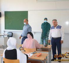 جولة لرئيس المنطقة التربوية في الجنوب على مراكز الإمتحانات الرسمية في صور
