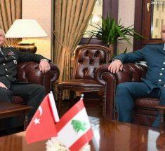 ملف الترسيم حضر في اجتماع قائد الجيش بنظيره التركي