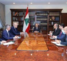 اجتماع في بعبدا للبحث في المفاوضات مع صندوق النقد الدولي